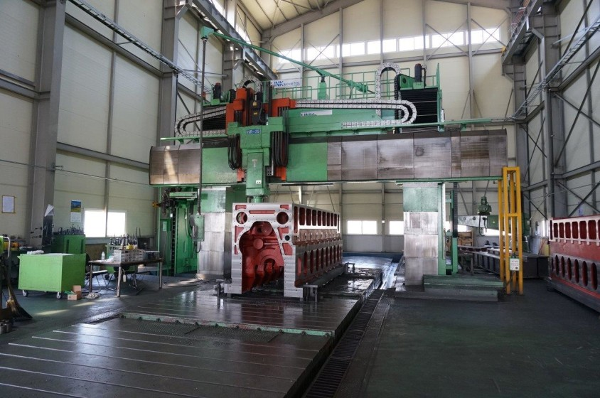 HNK CNC Planer Milling Machine 2
