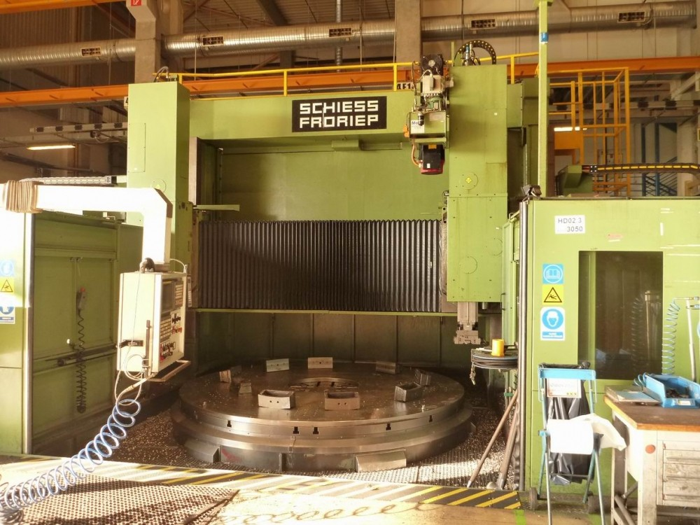 Schiess Froriep 32 Dz Double Column Heavy Duty Vertical