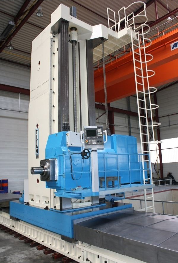 cnc floor pama afp duty heavy machine milling boring horizontal titan license