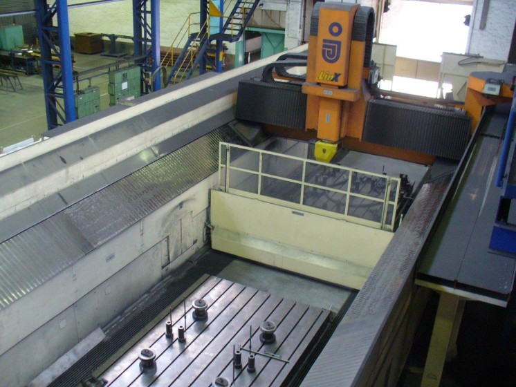 Jobs Linx Cnc Gantry Type Milling Machine