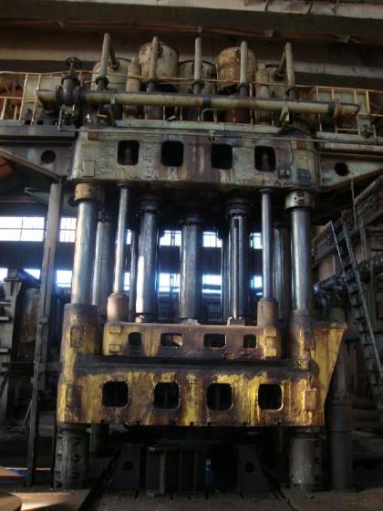 2,000 Ton Hydraulic Head Press