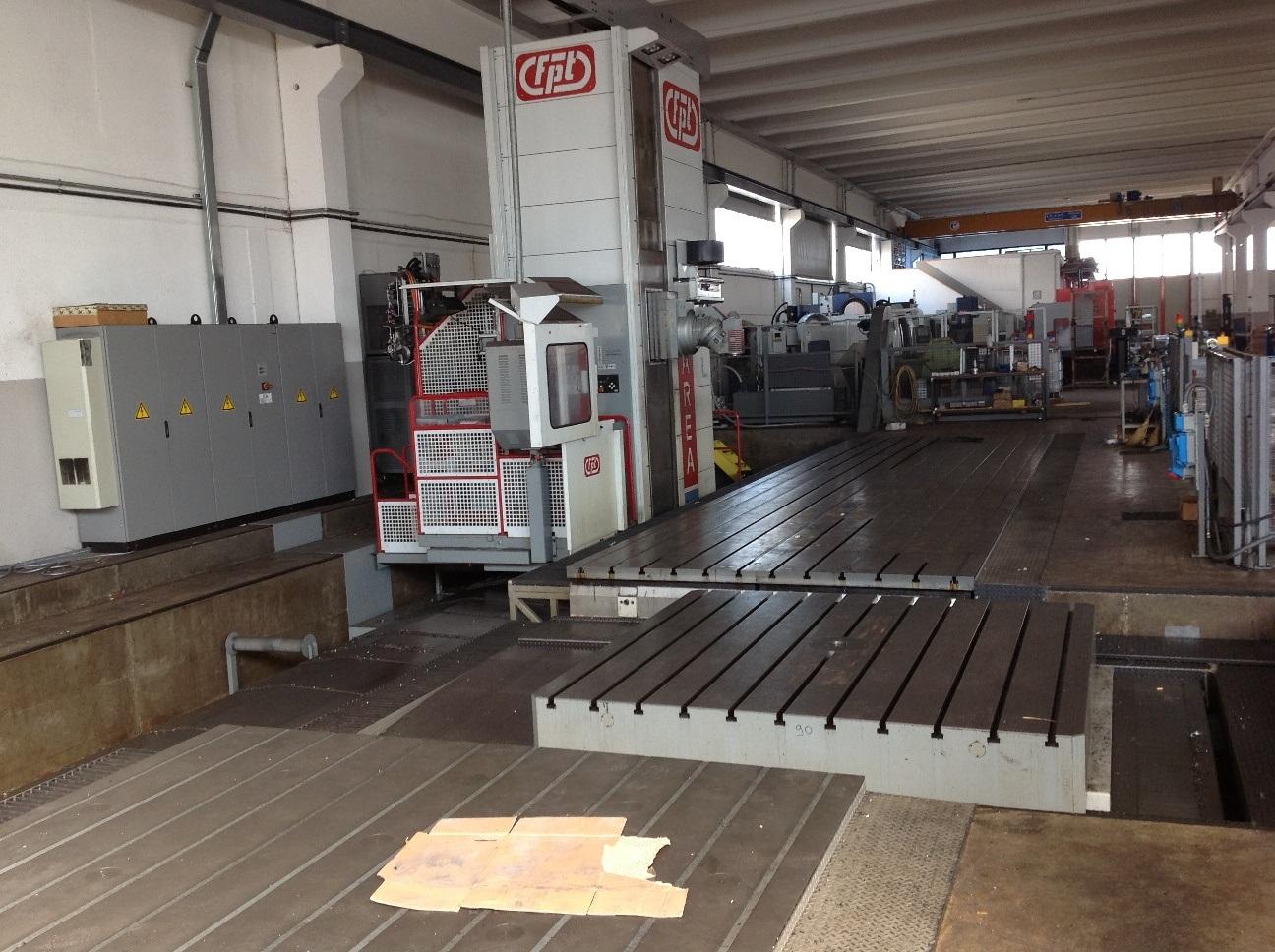 2015 Ram 2500 >> FPT AREA EV 8 M160 CNC Floor Type Horizontal Boring