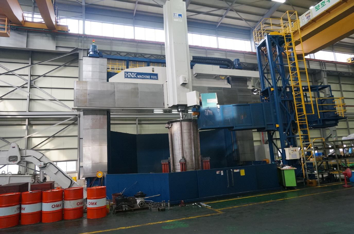 Hnk Vtc 50 85 Cnc Heavy Duty Double Column Vertical Boring